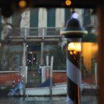 reflet grand Canal/arbre de Noël