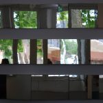 jardins dans un jeu de miroirs